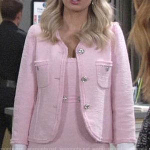 ISO!!! WANTED: Zara Pink Tweed Jacket XS
